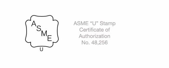 Certificado de autorización ASME